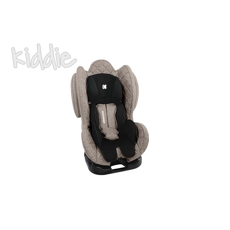 Стол за кола Kikkaboo 0-1-2 0-25 кг Bon Voyage Beige 2020