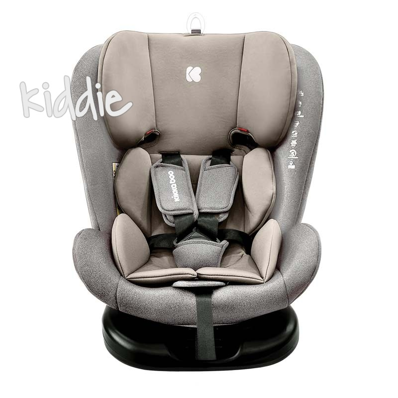 Стол за кола Kikkaboo 0-1-2-3 0-36 кг Cruz Light Grey 2020