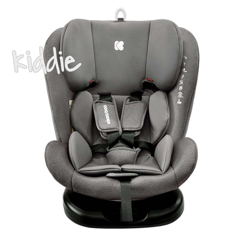 Стол за кола Kikkaboo 0-1-2-3 0-36 кг Cruz Dark Grey 2020