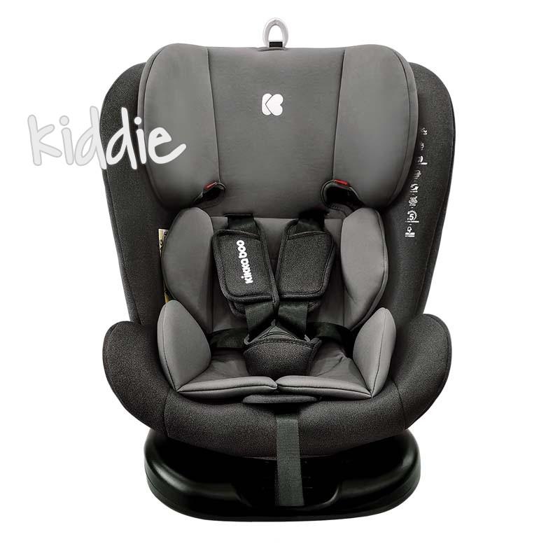 Стол за кола Kikkaboo 0-1-2-3 0-36 кг Cruz Black 2020
