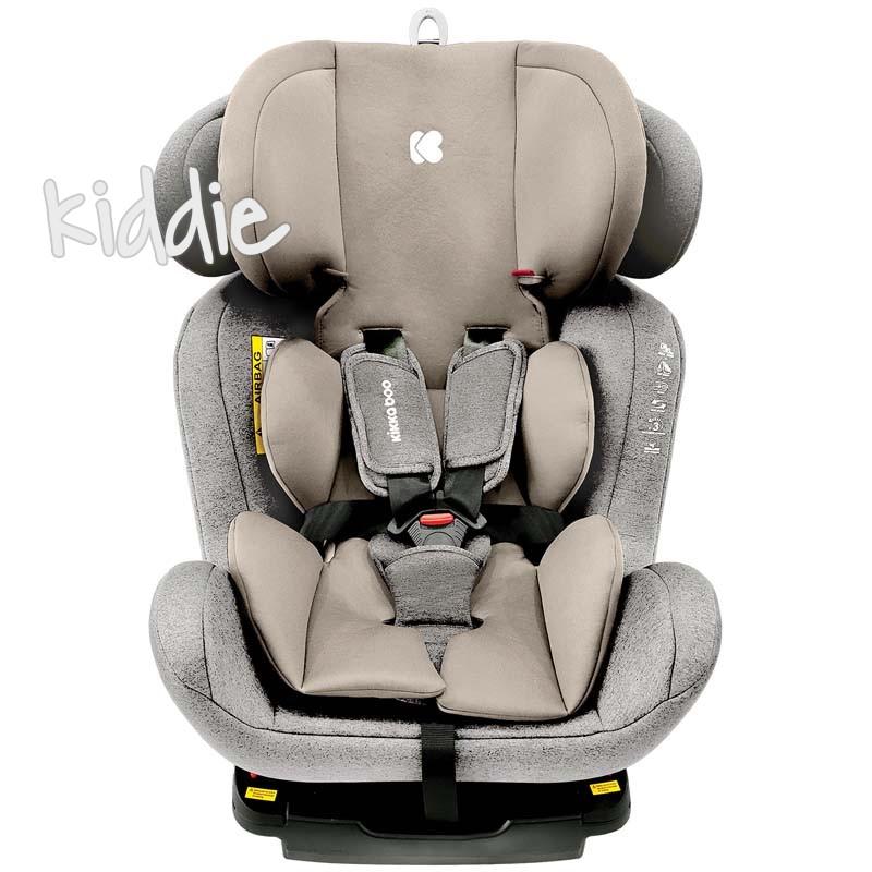 Стол за кола Kikkaboo 0-1-2-3 0-36 кг 4 Safe с Isofix Light Grey 2020