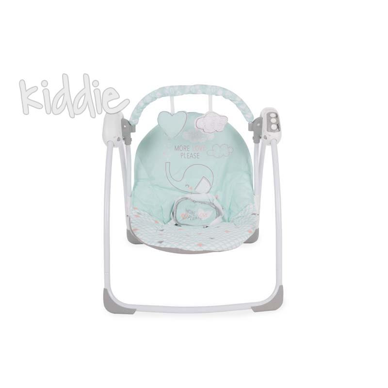 Бебешка люлка Felice Mint Elephant Kikkaboo