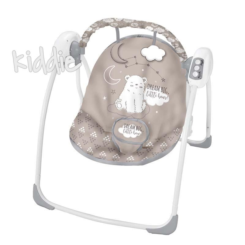 Бебешка люлка Felice Beige Bear 2020 Kikkaboo