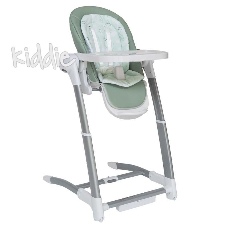 Бебешка люлка столче за хранене 3в1 Prima Mint 2020 Kikkaboo