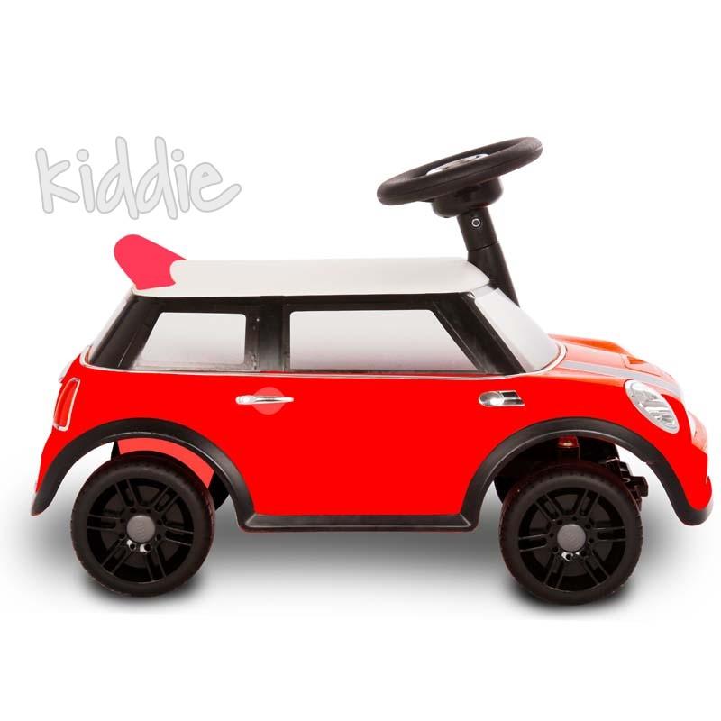 Мини Купър Ride-on Mini foot-to-floor red Kikkaboo