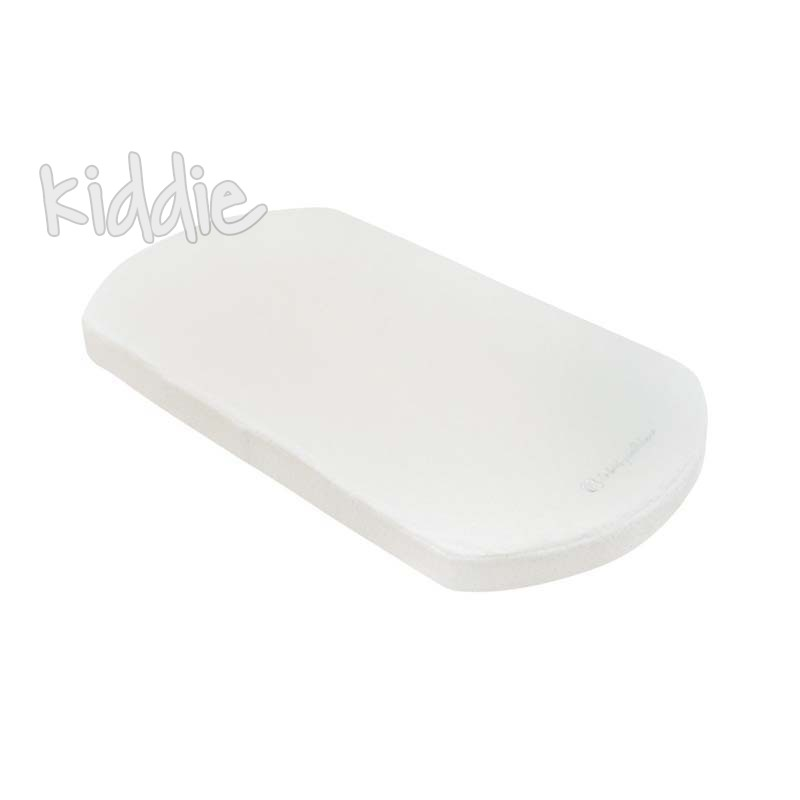 Матрак Kikkaboo за кош за новородено 70 х 35 х 4 см White Velvet