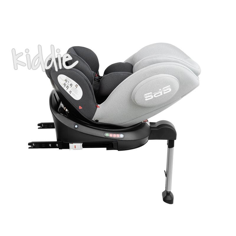 Kikka boo Стол за кола 0 1 2 3 от 0 до 36 кг Ronda ISOFIX Light Grey