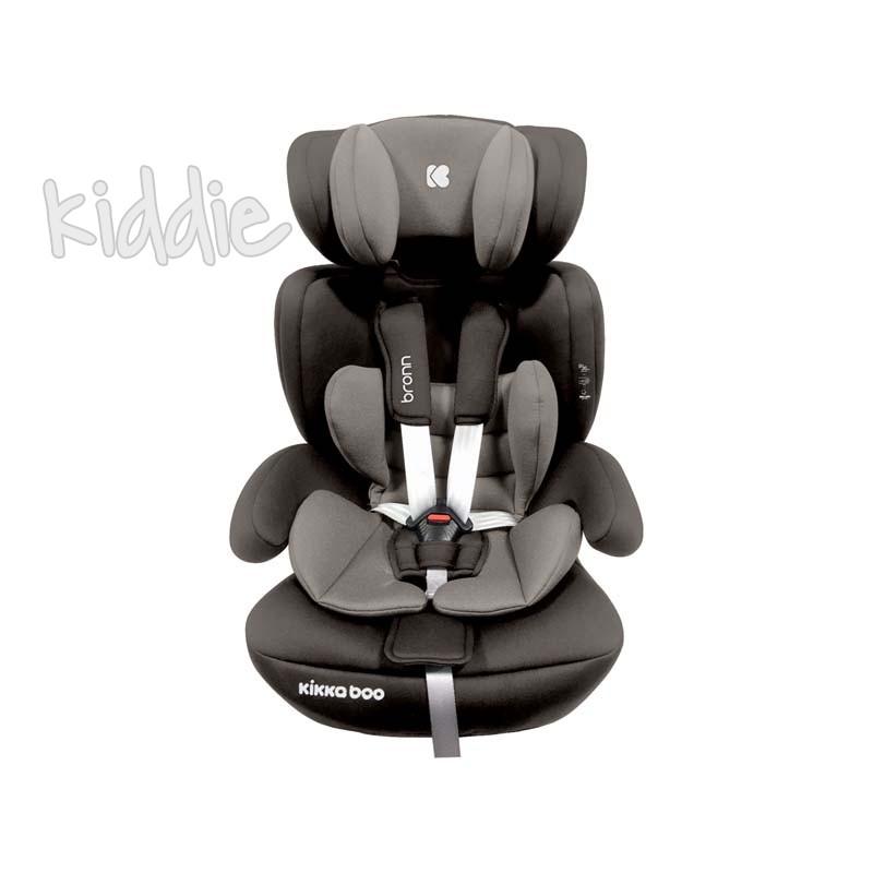 Kikka boo Стол за кола 1 2 3 от 9 до 36 кг Bronn ISOFIX Beige