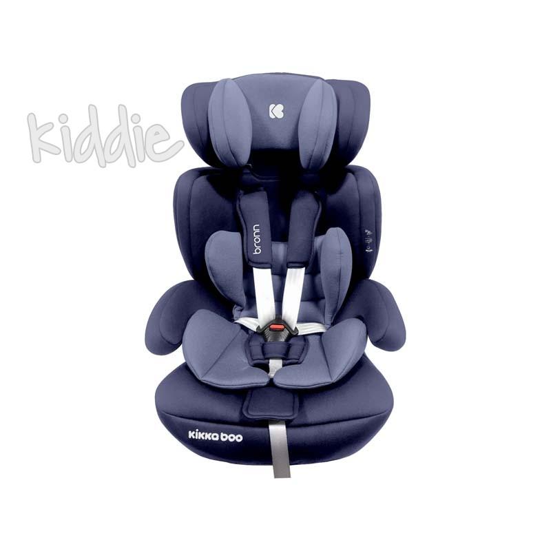 Kikka boo Стол за кола 1 2 3 от 9 до 36 кг Bronn ISOFIX Blue
