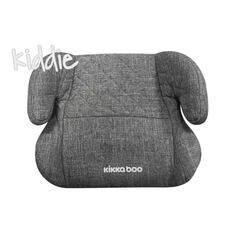 Kikka boo Стол за кола 2 3 от 15 до 36 кг Groovy ISOFIX Dark Grey