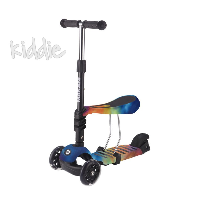 Kikka boo Тротинетка 3 в 1 Ride and Skate Rainbow