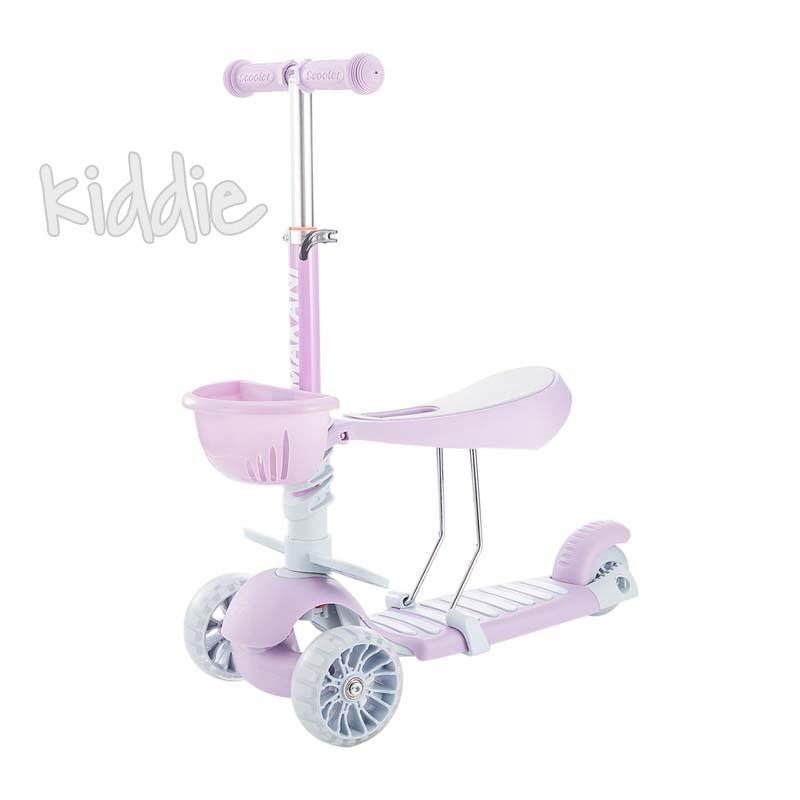 Kikka boo Тротинетка BonBon 3 в 1 Candy Lilac