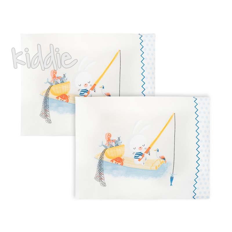Kikka boo Сет 2 броя калъфки 35х45см The Fish Panda
