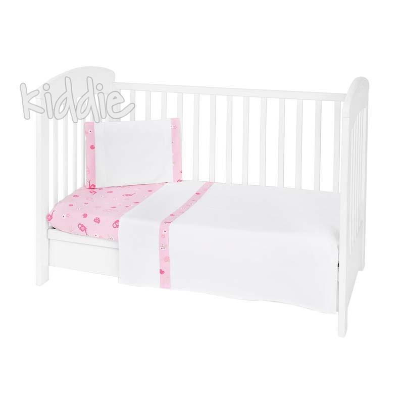 Бебешки спален комплект Kikkaboo 3 части EU Style 60 х 120 My Home