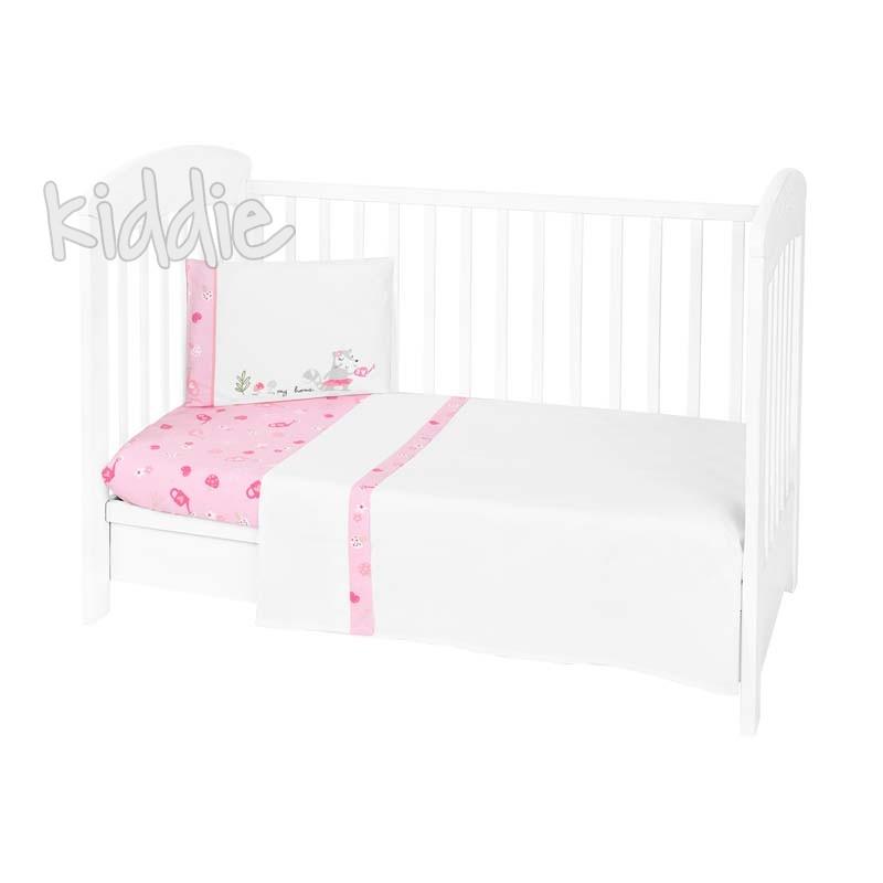 Бебешки спален комплект Kikkaboo 3 части EU Style 70 х 140 My Home
