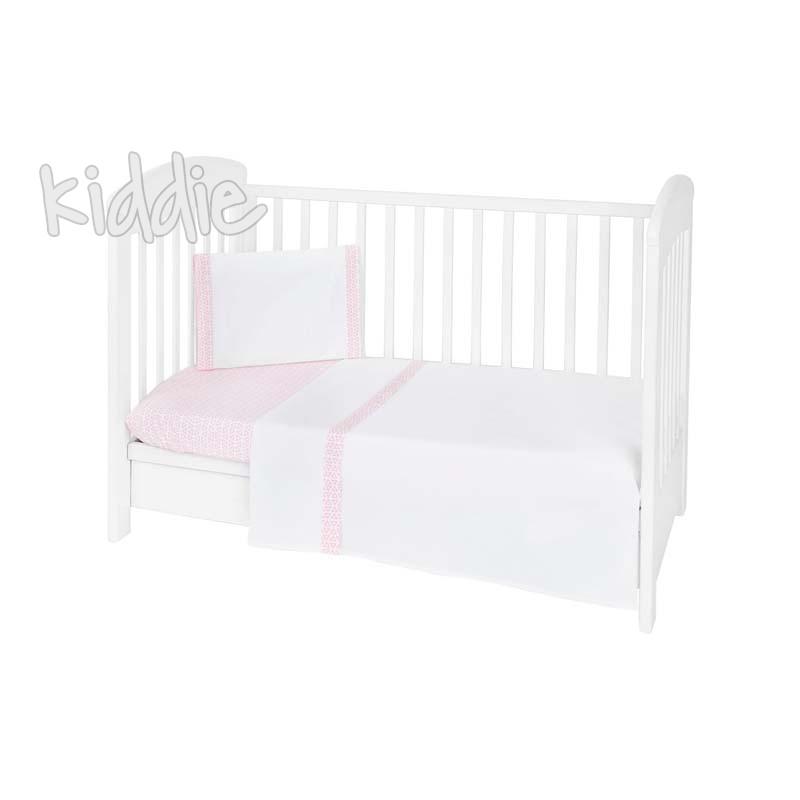 Бебешки спален комплект Kikkaboo 3 части EU Style 60 х 120 Day in Paris