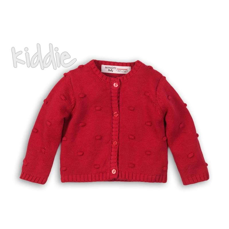 Детска плетена жилетка Minoti за момиче