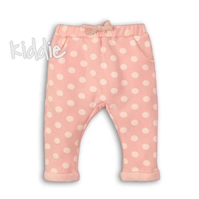Бебешки панталон Minoti на точки за момиче