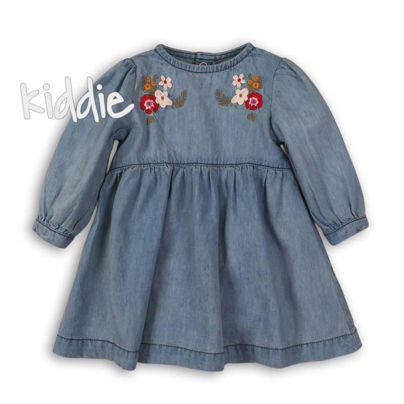 Детска дънкова рокля Minoti