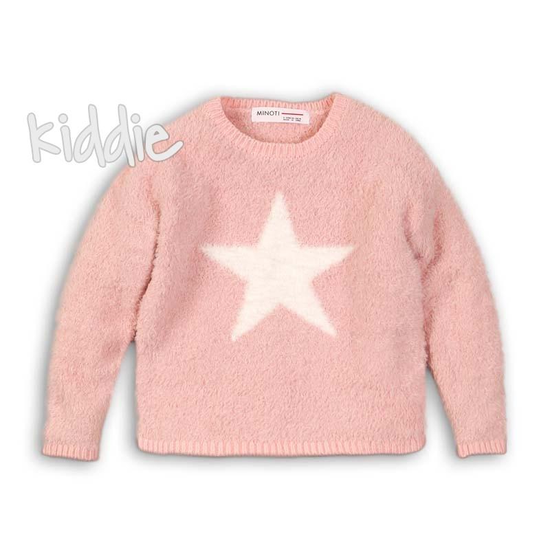 Детска блуза Minoti със звезда за момиче