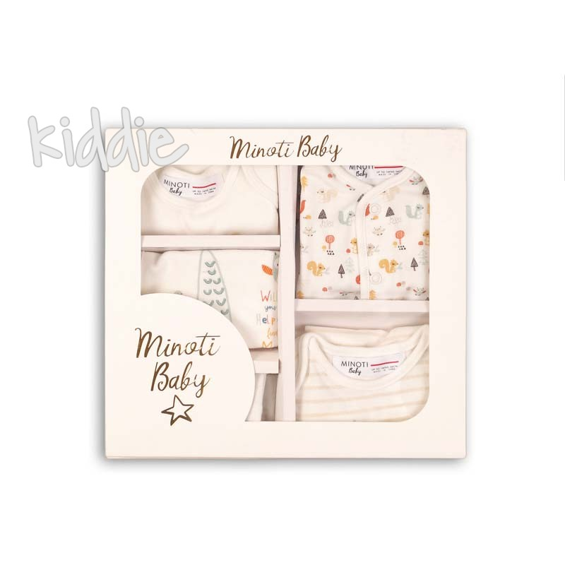 Бебешки комплект Minoti от пет части