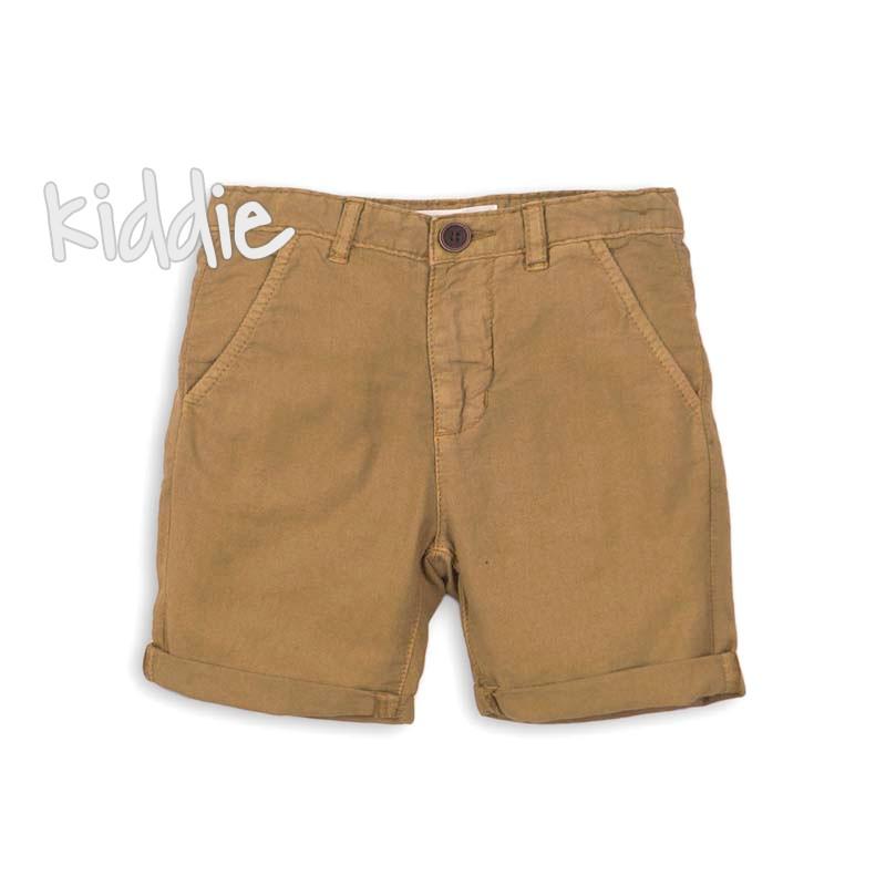 Бебешки къси панталони Minoti с маншети за момче