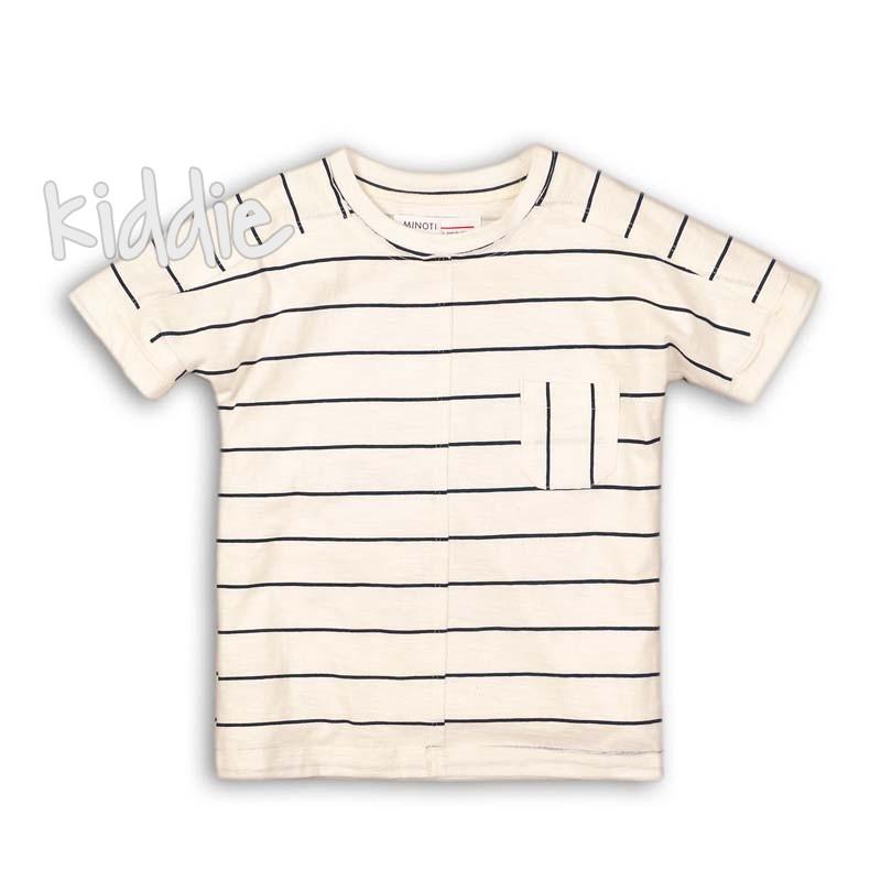 Детска тениска Minoti с джоб за момче