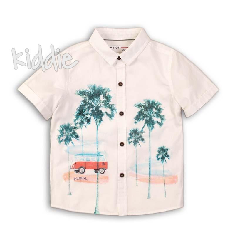 Детска риза Minoti Aloha за момче