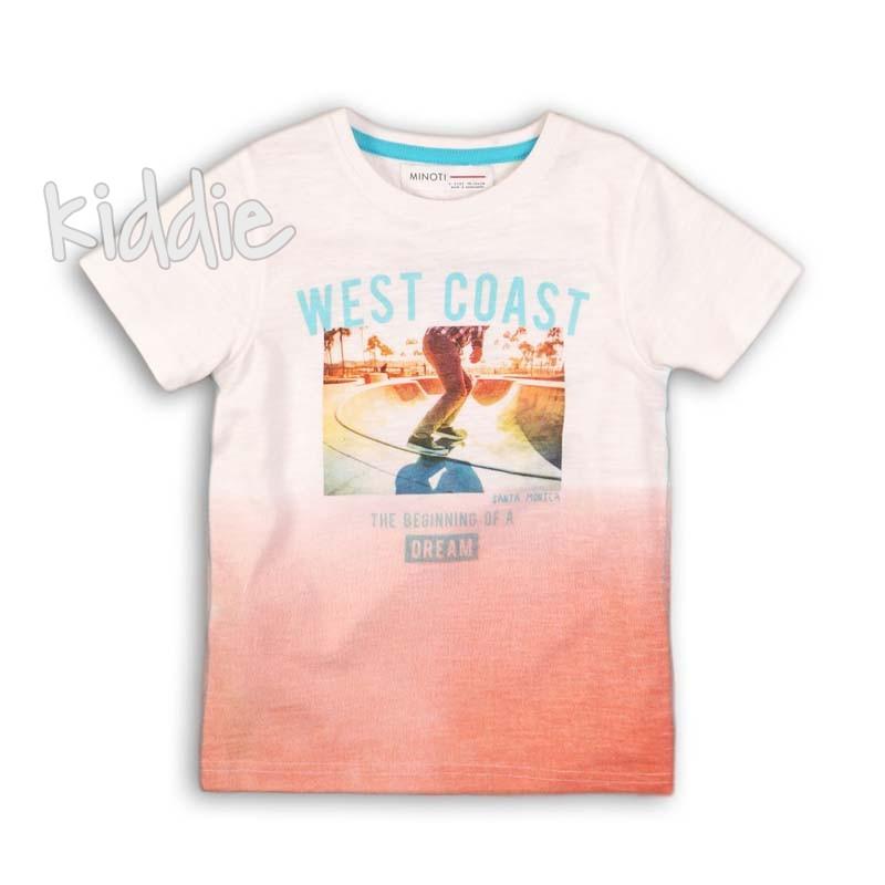 Детска тениска Minoti The beginning за момче
