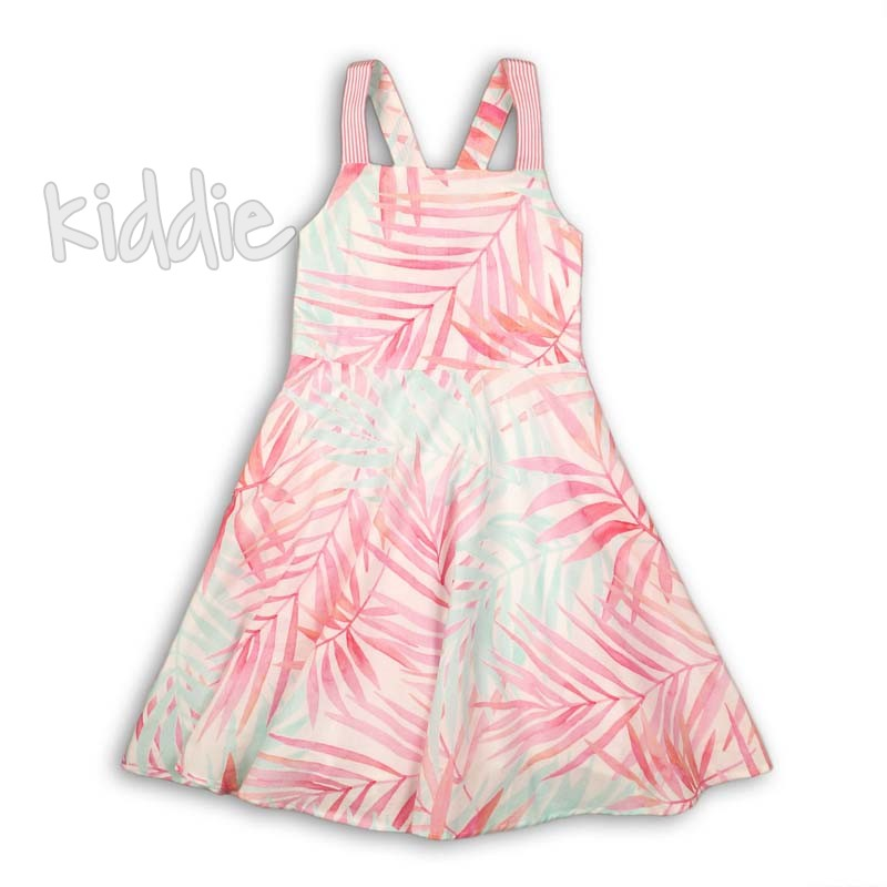 Детска рокля Minoti с изрязан гръб