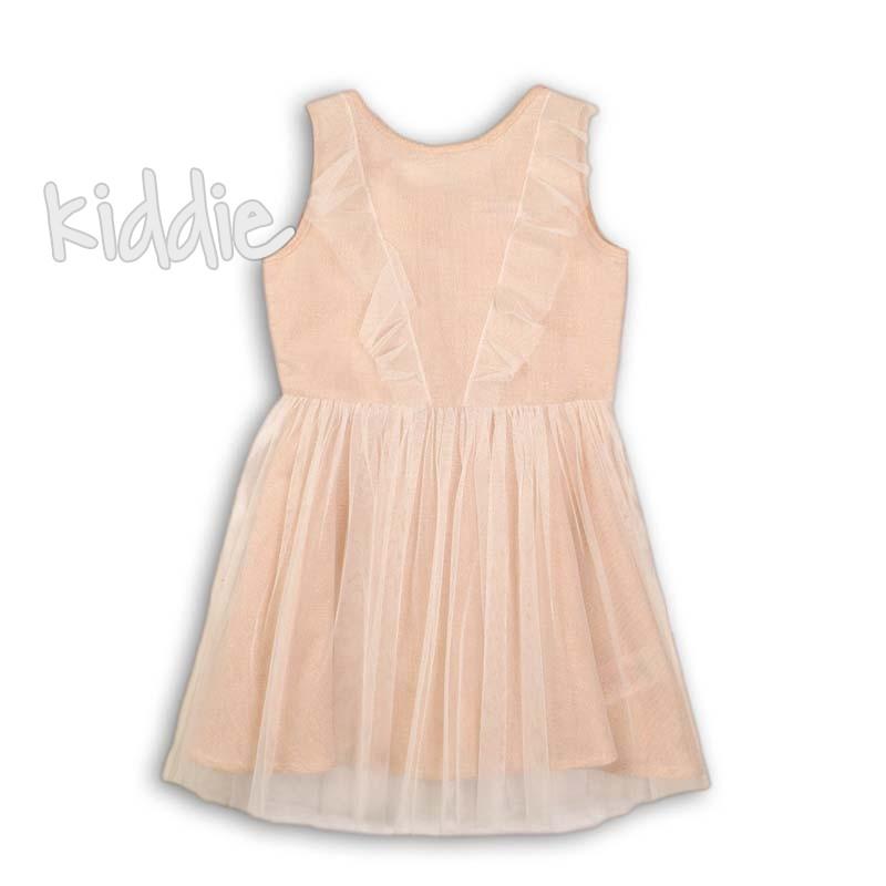 Детска рокля Minoti с тюл и цип