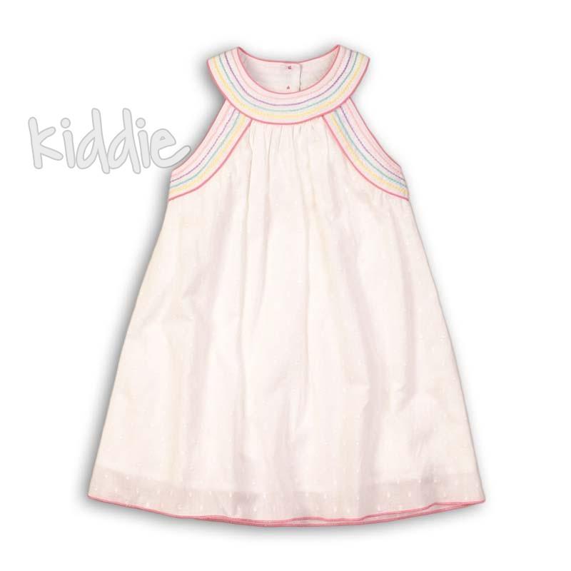 Детска рокля Minoti с цветна бродерия