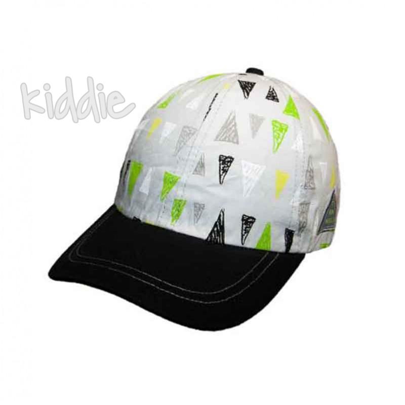 Детска лятна шапка EAC за момче на триъгълници