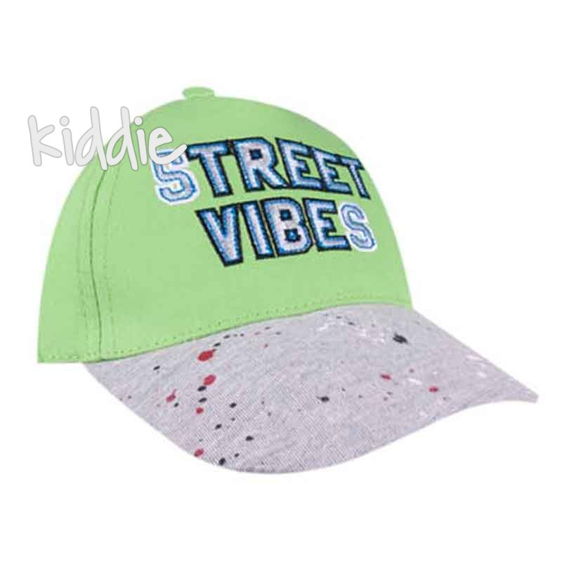 Детска шапка Street Vibes, EAC за момче