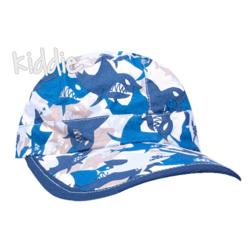 Детска шапка за момче EAC с акули
