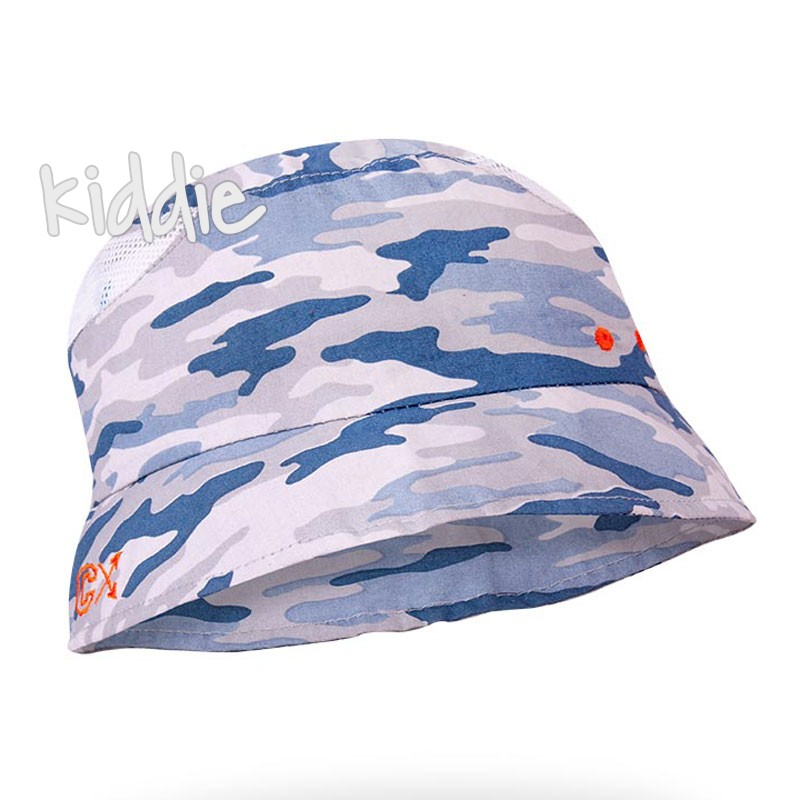 Детска камуфлажна шапка EAC с периферия за момче