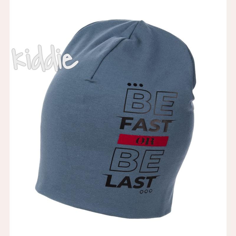Детска шапка Be Fast Be Last Marika за момче