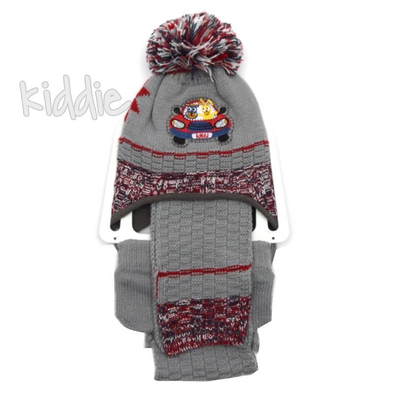Бебешки комплект за момче с шапка, Kitti