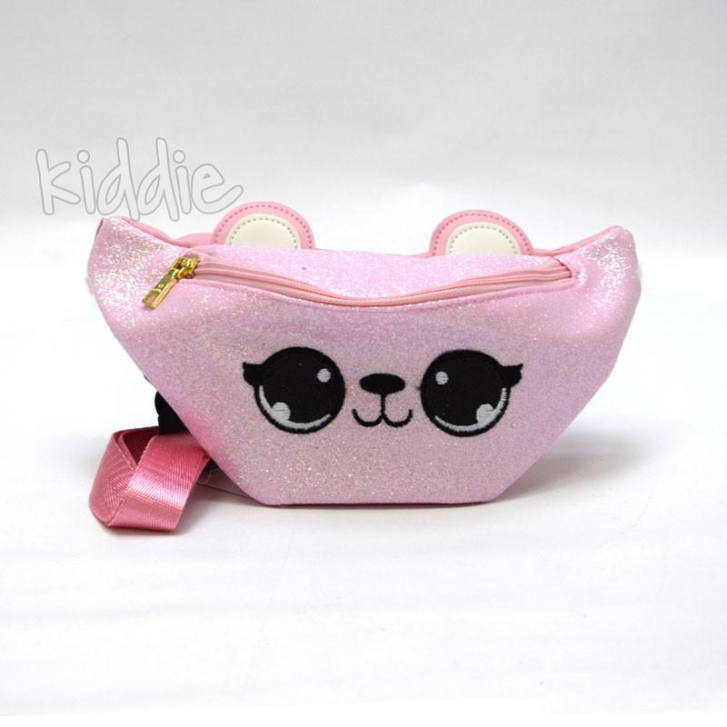 Детска чанта за кръста с уши