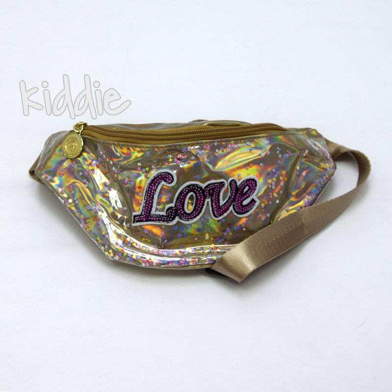 Детска чанта за кръста Love