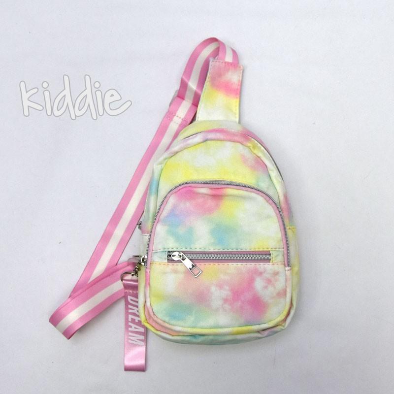 Детска цветна раница с една презрамка