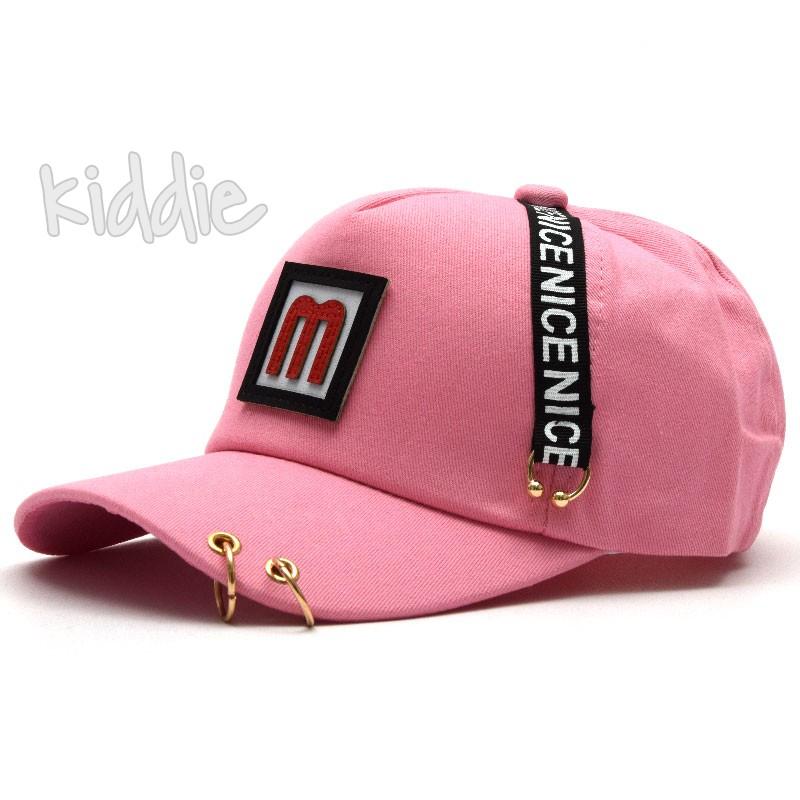 Детска шапка М с козирка