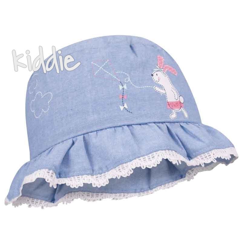 Бебешка шапка EAC с дантела на периферията