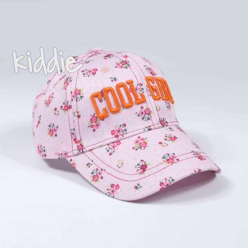 Детска шапка за момиче Cool girl, Kitti