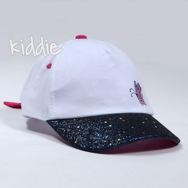 Детска шапка EAC за момиче с блестяща козирка