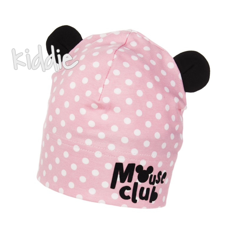 Детска шапка Mouse Club Marika за момиче