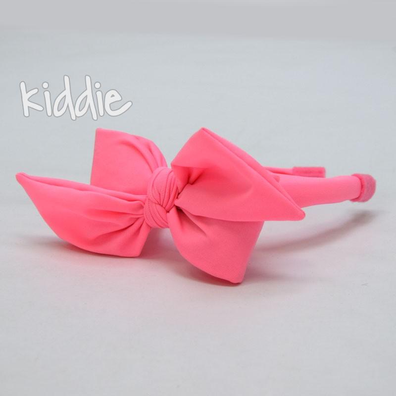 Детска ръчно изработена диадема с панделка