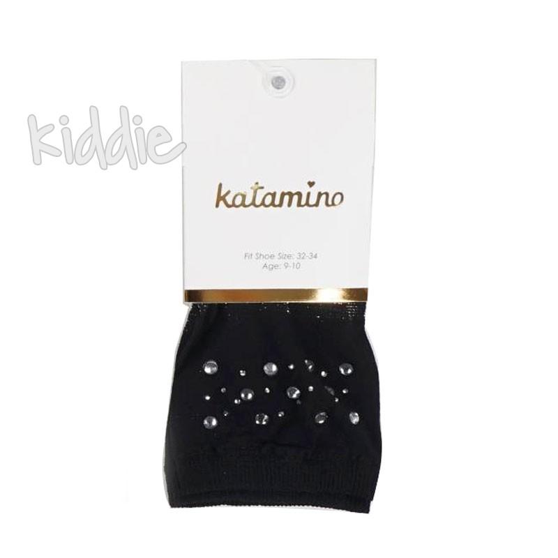 Детски къси чорапи Katamino с камъчета