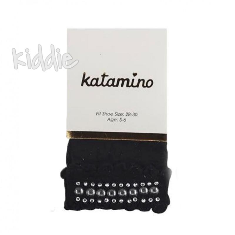 Детски чорапи Katamino с къдрички