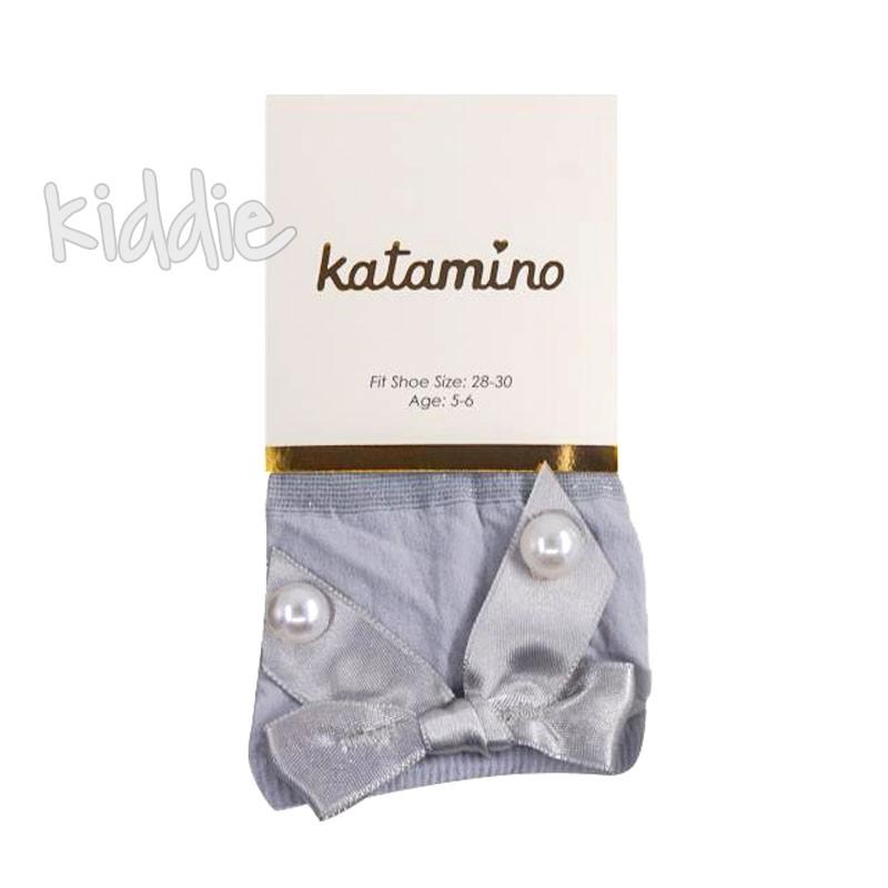 Детски къси чорапи Katamino за момиче